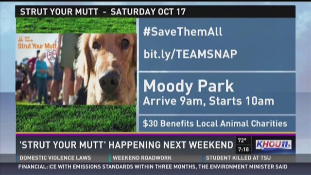 'Strut Your Mutt' set for Oct. 17