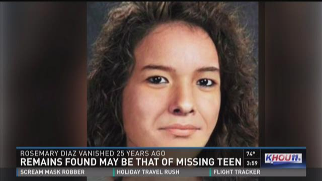 Remains found may be that of missing teen
