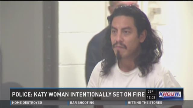 Police: Katy woman intentionally set on fire